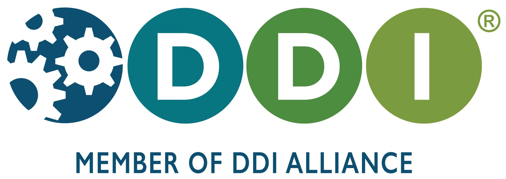 """DDI Logo with Tagline 3 -- """"Member of DDI Alliance"""""""